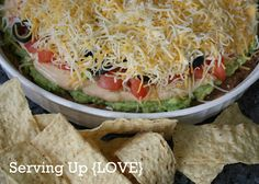 Mexican Seven Layer Dip
