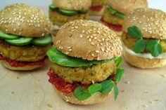 Easy Healthy Dinner Recipe Chickpea Sliders