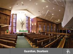 Guardian Lutheran Church and School in Dearborn, Michigan - my church and old grade school :):):)
