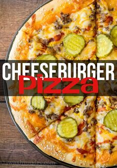 Pizza My whole family LOVED this Cheeseburger Pizza! We make it at least once a month now!My whole family LOVED this Cheeseburger Pizza! We make it at least once a month now! Beef Recipes, Cooking Recipes, Healthy Recipes, Hamburger Recipes, Easy Recipes, Healthy Homemade Pizza, Grilled Pizza Recipes, Hamburger Dishes, Skillet Recipes