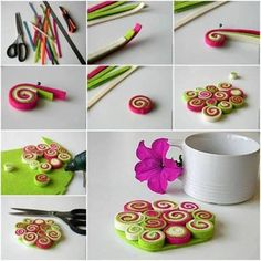 DIY Felt Coasters : DIY Easy Felt Coaster