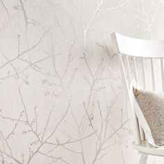 Innocence Stone / Cream Wallpaper by Graham and Brown