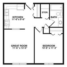 700 Sq Ft Floor Plans House Floor Plans Pinterest
