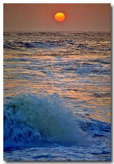 ✯ Sunset on the Beach!