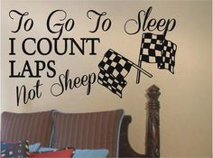 I like the idea of this saying in the nursery, just not in a huge vinyl cut out.