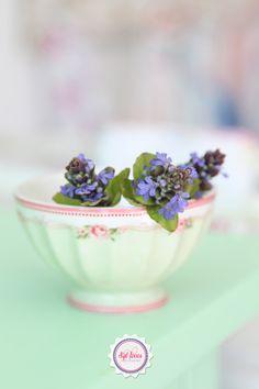 Syl loves, minty mint, flowers, GreenGate