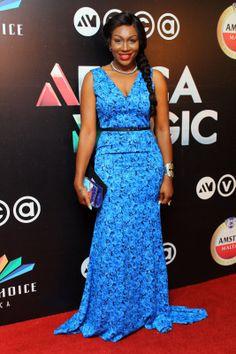 FAB Red Carpet: Genevieve Nnaji, Rita Dominic, IK Osakioduwa