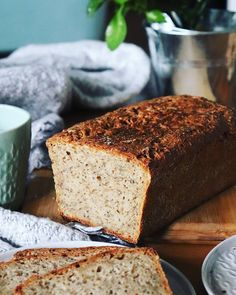 Najlepszy chleb orkiszowy - chleb idealny, szybki, prosty i wegański chleb idealny Alternative Health, Alternative Medicine, Banana Bread, Bakery, Food And Drink, Keto, Sweets, Breakfast, Desserts
