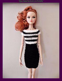 "Handmade clothes for FR16 Tulabelle Poppy Parker  16"" dolls: dress"