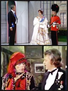 """The Carol Burnett Show Top: Carol Burnett stars with Harvey Korman, left, and Tim Conway in the sketch """"The Hollow Hero"""". Harvey Korman, 70s Tv Shows, Carol Burnett, Childhood Movies, Comedy Tv, Great Movies, Favorite Tv Shows, Movie Tv, Cool Pictures"""