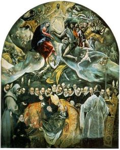 The Burial of Count Orgaz by El Greco (1586)