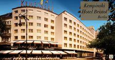 Exterior at 5 star hotel: Kempinski Hotel Bristol. This hotel's address is: Kurfürstendamm 27 Charlottenburg Berlin 10719 and have 301 rooms Berlin City, Berlin Wall, Hotel Bristol, Kempinski Hotel, Hotel Reservations, Travel Companies, Cheap Hotels, Travel Deals, Hotel Deals