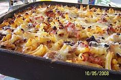 Farmerauflauf - My list of simple and healthy recipes Farmers Casserole, Casserole Dishes, Best Pasta Salad, Cooking Dishes, Quiches, Vegetable Dishes, Popular Recipes, Diy Food, Coco