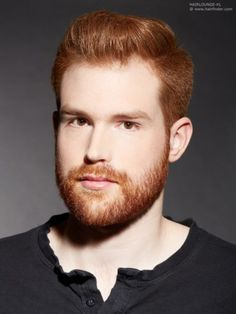 Cool Hairstyles with Beards: Having facial hair/beard is something not very difficult but daring. Hot Ginger Men, Ginger Beard, Ginger Hair, Ginger Guys, Cool Haircuts, Haircuts For Men, Cool Hairstyles, Red Hair Men, Mens Hair