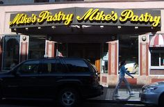 Mikes Pastry North End Boston