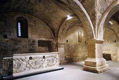 Brescia - Complesso monastico di San Salvatore e Santa Giulia, al piano inferiore della Chiesa di Santa Maria in Solario - Longobardi in Italia.  Luoghi del Potere (568-774 dC) -  dal 2011 Patrimonio dell'Umanità