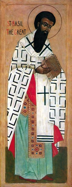 St. Basil the Great was born at Caesarea of Cappadocia (Asia Minor) in 330 AD. He was one of ten children of St. Basil the Elder and St. Emmelia. Several of his brothers and sisters are honored among the saints. St. Basil received his education in Constantinople & Athens, joining University of Athens in 351, where he studied philosophy & classical works. He travelled extensively in Syria and Egypt, visiting the great hermits in monasteries of the Eastern and Western Deserts of Egypt.