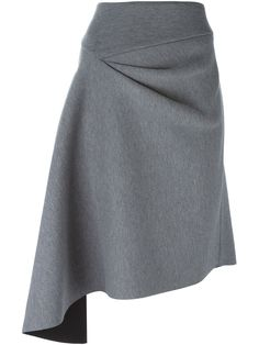 DKNY jupe à design asymétrique Robes Glamour, Kleidung Design, High Skirts, Women's Skirts, Moda Chic, Draped Skirt, Fashion Details, Fashion Design, Floral Skirts