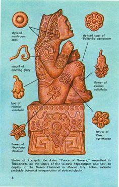 Xochipilliwas el dios del arte, los juegos , la belleza , la danza , las flores , y la canción en la mitología azteca.