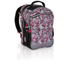 Dla dziewczyn, które nie chcą być dziecinne Topgal ma plecak NUN 201- plecak do szkoły od 1 do 4 klasy. Przepiękny motyw kwiatów powoduje, że plecak można nosić w starszych klasach.