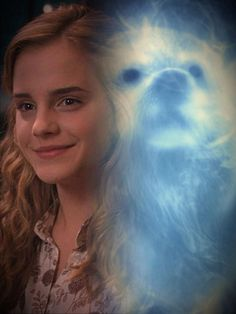 Hermione and her patronus