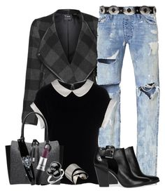 """""""Girl Power!"""" by loves-elephants ❤ liked on Polyvore featuring Dex, Armani Collezioni, Michael Kors, MICHAEL Michael Kors, Pomellato, Masquerade, Alexis Bittar, MAC Cosmetics and girlpower"""