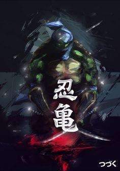 SHINOBI NO KAME - LEO by NINJAMETALPEN.deviantart.com on @deviantART
