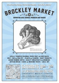 The delicious Brockley Market every saturday Lewisham College car park 10-2pm