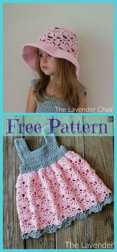 8 Crochet Cute Sun Hat Free Patterns - New Ideas Crochet Girls, Cute Crochet, Crochet For Kids, Sewing Patterns Free, Free Pattern, Hat Patterns, Crochet Circle Pattern, Crochet Shark, Crochet Baby Beanie