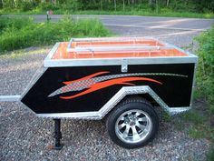 Roadman Campers, Motorcycle Camper, Motorcycle Trailer