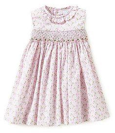 Edgehill Collection Baby Girls 3-24 Months Floral-Print Dress