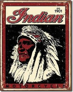 Indian Motorcycle 1901 Logo -- One of my my favorite motorcycles, love the font of their name too!