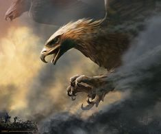 The Great Eagle - Wall Mural available from Wallsauce.com