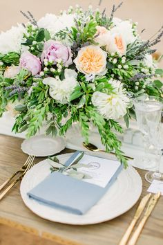 photographer: Anna Roussos Wedding in Spetses inspiration Corfu Wedding, Santorini Wedding, Greece Wedding, Wedding Table Flowers, Wedding Table Settings, Wedding Centerpieces, Centerpiece Ideas, Mod Wedding, Elegant Wedding