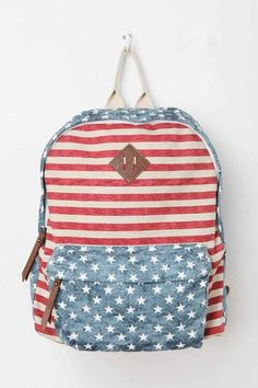 Steve Madden Faded Americana Backpack