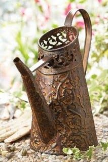 Charming watering can.   # Pin++ for Pinterest #