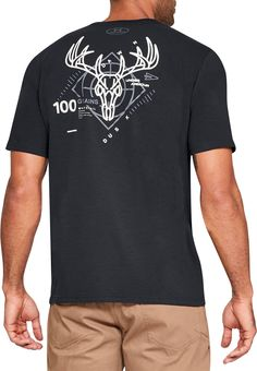 Under Armour Men s Heads Up  Whitetail Short Sleeve T-Shirt f2bfc35d4