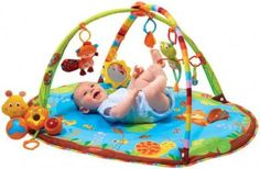 brinquedos para bebe colchonete com chocalhos