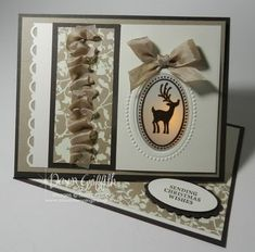 Peek a boo Easel card with video by Dawn Griffith