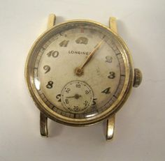 Longines Wristwatches for Men Vintage Watches For Men, Vintage Men, Wrist Watches, Men's Watches, World War Ii, Pocket Watch, Fashion Accessories, Antiques, Gold
