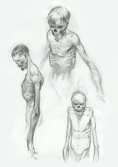 Gallery Anatom - Gallery - sketch can find Zombie art and more on our website. Zombie Drawings, Creepy Drawings, Art Drawings Sketches, Creepy Sketches, Monster Sketch, Monster Drawing, Monster Concept Art, Zombie Art, Arte Obscura