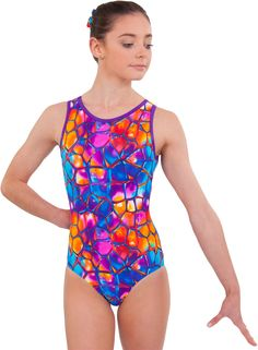 Shelly Leotard by Sylvia P $38AUD #sylviapgym #gymnastics #leotards