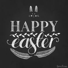 Happy Easter! ♥