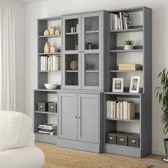Glass Shelves For Bookcase Glass Cabinet Doors, Sliding Glass Door, Glass Doors, Ikea Inspiration, Scandinavian Furniture, Scandinavian Design, Open Shelving, Adjustable Shelving, Shelving Units