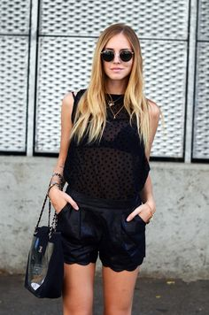 fashion blogger Chiara Ferragni #streetstyle #fashion