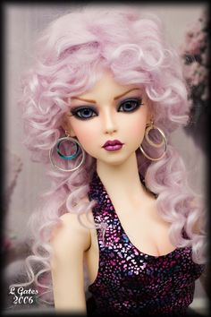 Fairy Dolls, Bjd Dolls, Doll Wigs, Beautiful Barbie Dolls, Pretty Dolls, Cartoon Girl Images, Vintage Hairstyles For Long Hair, Wedding Wine Glasses, Glamour Dolls