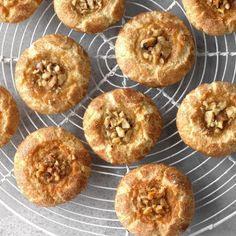 Baklava Thumbprint Cookies Baklava ThumbPrint Cookies — topping on sister-in-law's peach cobbler so delicious that decided to use that to top a cookie I developed with the flavors of baklava. —Sharon Eshelman / Taste of Home Crinkle Cookies, Tea Cakes, Taste Of Home, Potluck Recipes, Dessert Recipes, Baking Recipes, Potluck Ideas, Candy Recipes, Grilling Recipes
