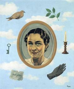 georgette   1937  Rene Magritte