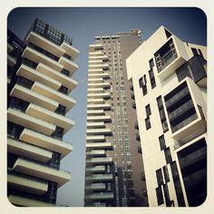 Milano, New Buildings in Porta Nuova  #Milano #mytravelblog photo by Stella Marega