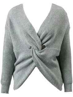 'Callie' Twisted V-neck Sweater - $59 http://shareasale.com/r.cfm?b=485161&u=1560813&m=47251&urllink=https%3A%2F%2Fwww%2Egoodnightmacaroon%2Eco%2Fcollections%2Fnew%2Darrivals%2Fproducts%2Fcallie%2Dtwisted%2Dv%2Dneck%2Dsweater%2D4%2Dcolors%2Davailable&afftrack=